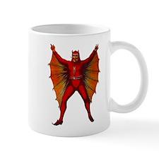 Halloween WINGED DEVILMAN Red Devil Coffee Mug