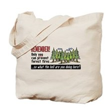 Forest Fires Tote Bag