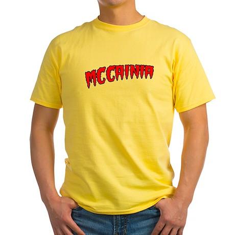 McCainia Yellow T-Shirt