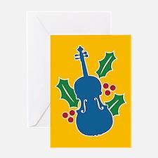 Viola Holly Greeting Card