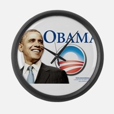 Funny Obama Large Wall Clock