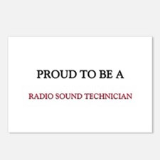 Proud to be a Radio Sound Technician Postcards (Pa