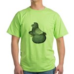 English Trumpeter Spangle Green T-Shirt