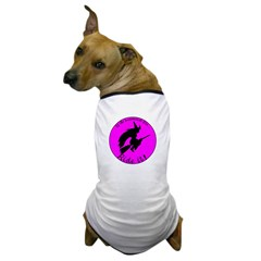 Magical Witch Broom Dog T-Shirt