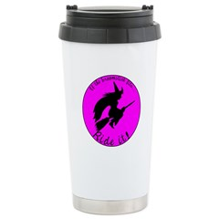 Magical Witch Broom Stainless Steel Travel Mug