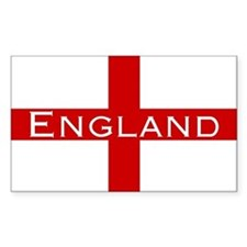 George Cross England Rectangle Decal