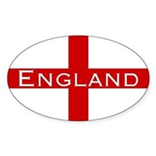 George Cross England Oval Decal