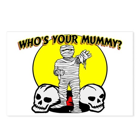 Your Mummy Postcards (Package of 8)