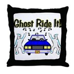 Ghost Ride It Throw Pillow
