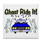 Ghost Ride It Tile Coaster