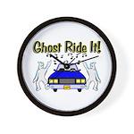 Ghost Ride It Wall Clock