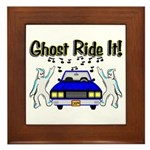Ghost Ride It Framed Tile
