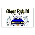 Ghost Ride It Rectangle Sticker 10 pk)