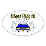 Ghost Ride It Oval Sticker (50 pk)