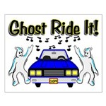 Ghost Ride It Small Poster