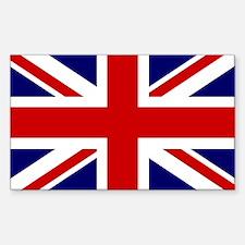 Union Jack/UK Flag Rectangle Decal