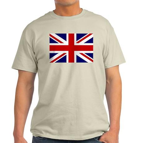 Union Jack/UK Flag Light T-Shirt