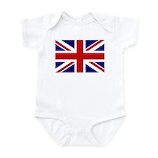 Union Jack/UK Flag Infant Bodysuit