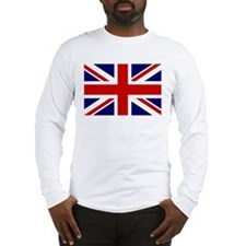 Union Jack/UK Flag Long Sleeve T-Shirt