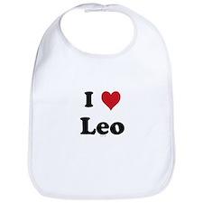 I love Leo Bib