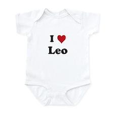 I love Leo Infant Bodysuit