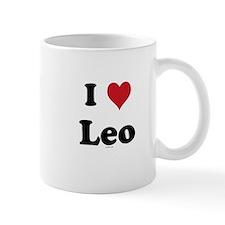 I love Leo Mug