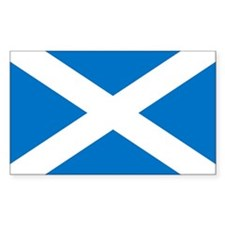 Scotland - St Andrews Cross - Sticker (Rectangular