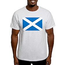 Scotland - St Andrews Cross - Ash Grey T-Shirt