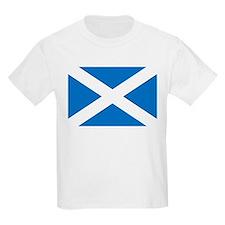 Scotland - St Andrews Cross - Kids T-Shirt