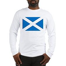 Scotland - St Andrews Cross - Long Sleeve T-Shirt