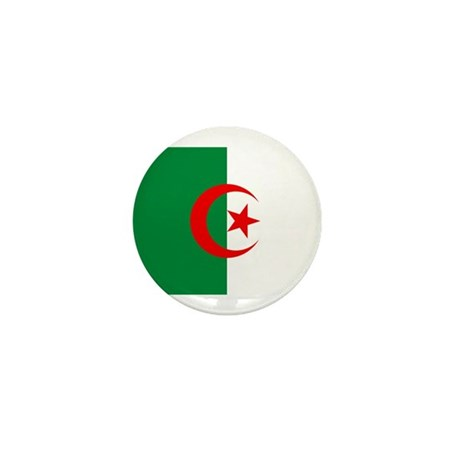 Flag of Algeria Mini Button