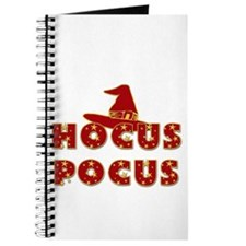 Witches Hat Hocus Pocus Red Journal