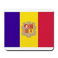 Flag of Andorra Mousepad