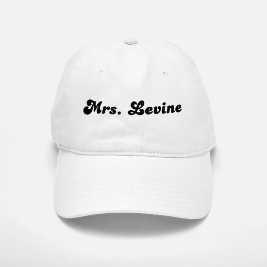 Mrs. Levine Baseball Baseball Cap