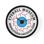 Eyeball Museum Wall Clock