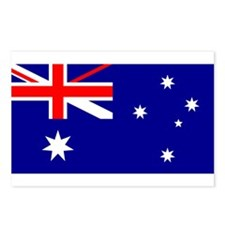 Flag of Australia Postcards (Package of 8)