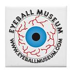 Eyeball Museum Tile Coaster