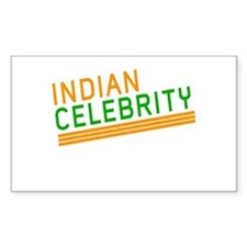 Indian Celebrity Rectangle Decal