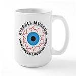 Eyeball Museum Large Mug