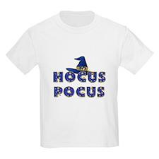 Hocus Pocus Witches Hat Blue T-Shirt