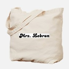 Mrs. Lebron Tote Bag