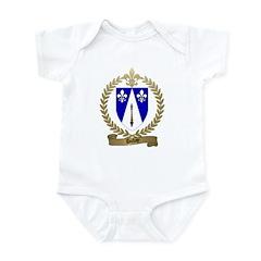 DUBAY Family Crest Infant Creeper