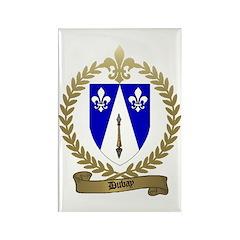 DUBAY Family Crest Rectangle Magnet (100 pack)