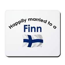 Happily Married Finn 2 Mousepad