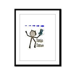 Banjo Dance Framed Panel Print