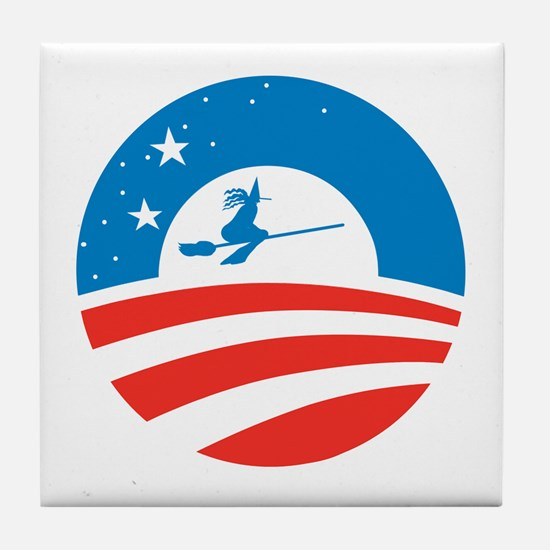 Obamatober Tile Coaster