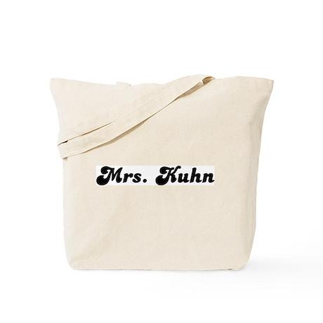 Mrs. Kuhn Tote Bag