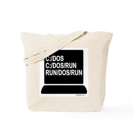 C:/DOS/RUN Tote Bag