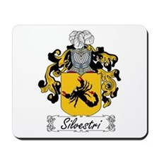 Silvestri Family Crest Mousepad