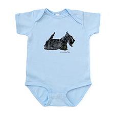 Scottish Terrier Profile Infant Bodysuit